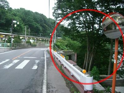 長野原駅前