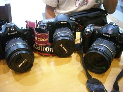 タイ旅行のカメラ
