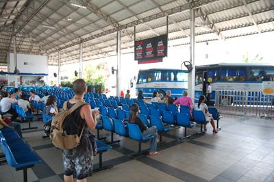 パタヤからバンコクへバスで