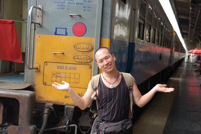 タイの鉄道(日本製)