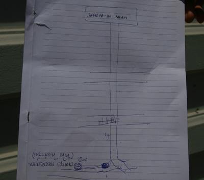 タイ人の書いた地図