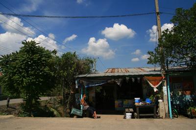 タイの田舎の商店