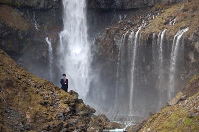 華厳の滝 滝つぼ