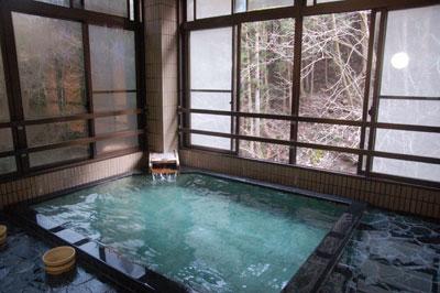 蛇の湯温泉 湯船
