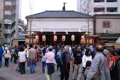 三社祭(心霊)