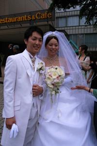 光太朗結婚式