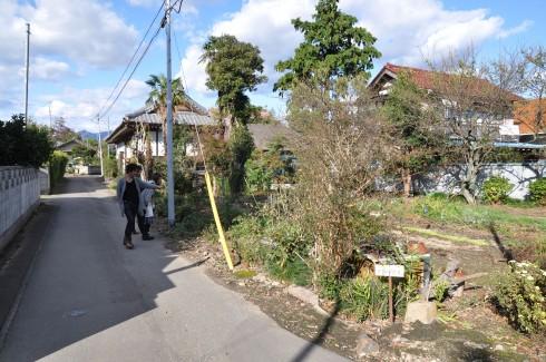 太塚家のある集落